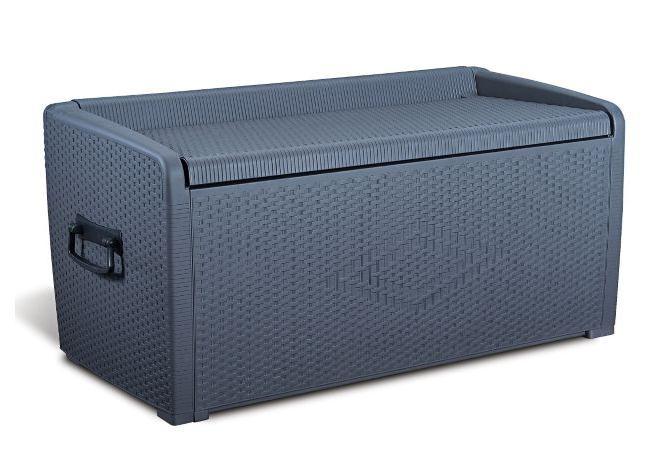 Opbergbox voor tuin kussens en lounge kussens makkelijk for Lounge kussens