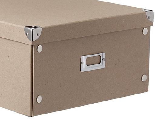 Kartonnen Opbergboxen voor Opruimen Papier en ander Materiaal